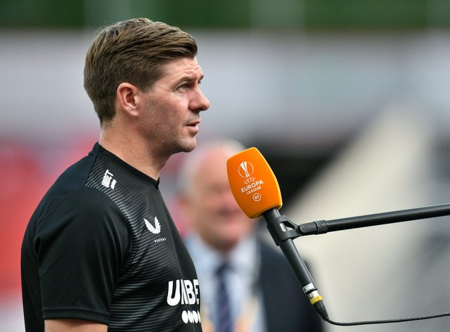 Rangers manager Steven Gerrard believes his side still have some way to go before they can topple Europe's top sides