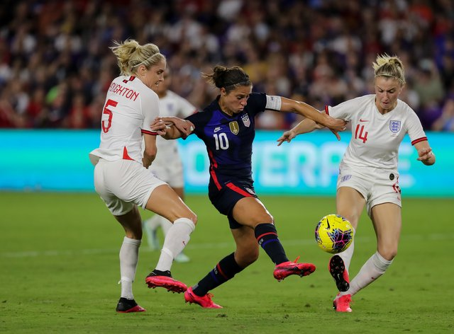 England have said they won't take part in the SheBelieves Cup