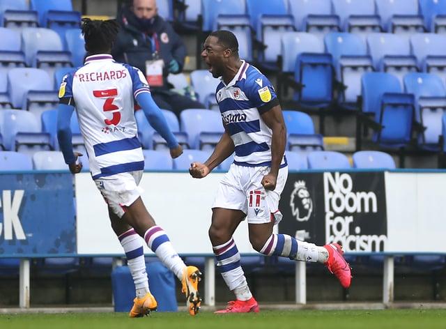 Yakou Meite (right) celebrates his goal
