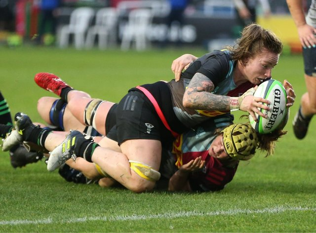 Quins defeated Gloucester-Hartpury