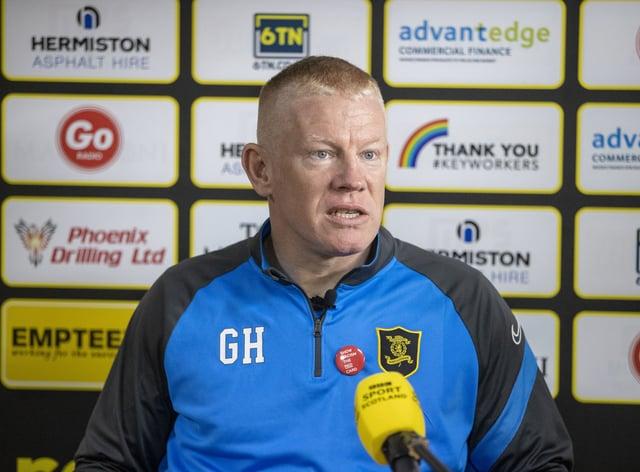 Gary Holt resigned as Livingston manager on Thursday