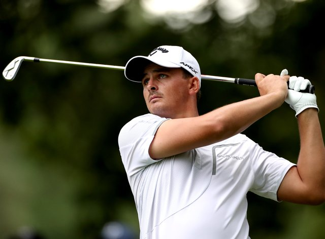 Christiaan Bezuidenhout was the only player in the final group to break 70