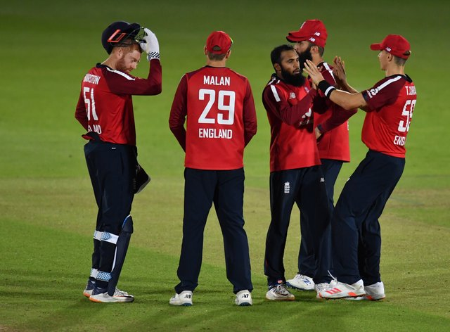 Adil Rashid starred for England
