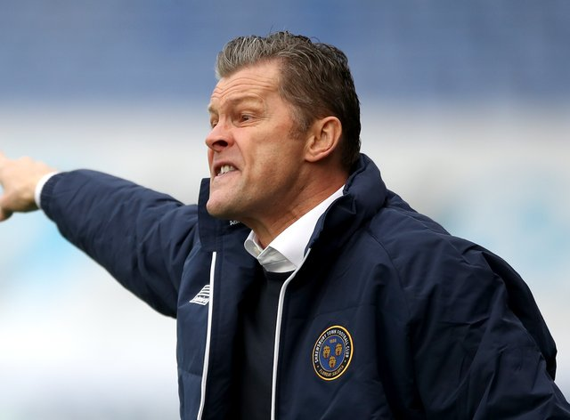 Steve Cotterill's is up and running at Shrewsbury