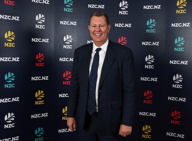 New ICC chair Greg Barclay