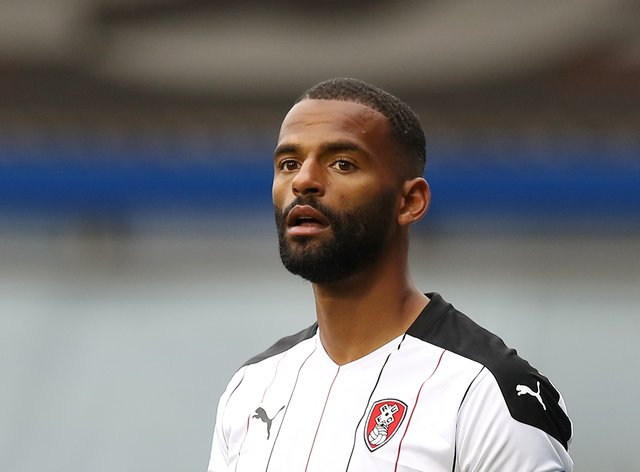 Rotherham defender Michael Ihiekwe is suspended for the visit of Brentford
