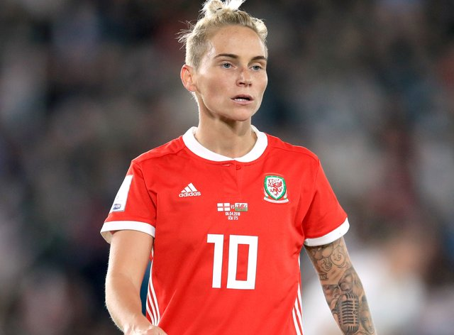 <p>Jess Fishlock will continue to compete internationally&nbsp;</p>