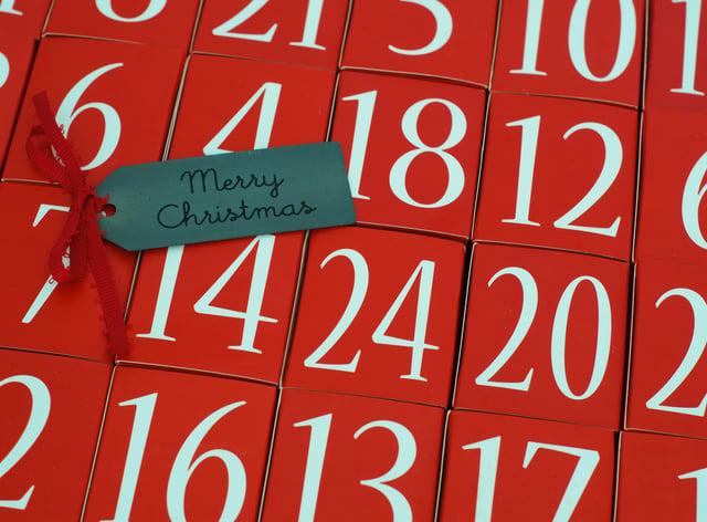 Advent Calendar – Merry Christmas