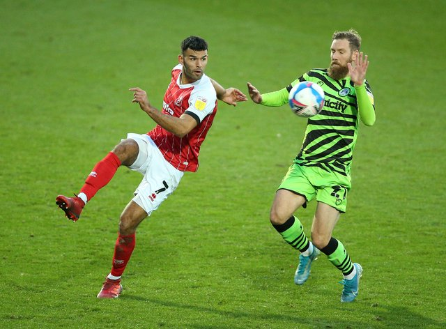 Scott Wagstaff (right) could return for Forest Green