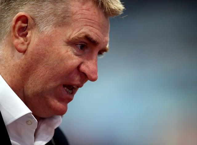 Dean Smith felt Aston Villa should have had a second penalty