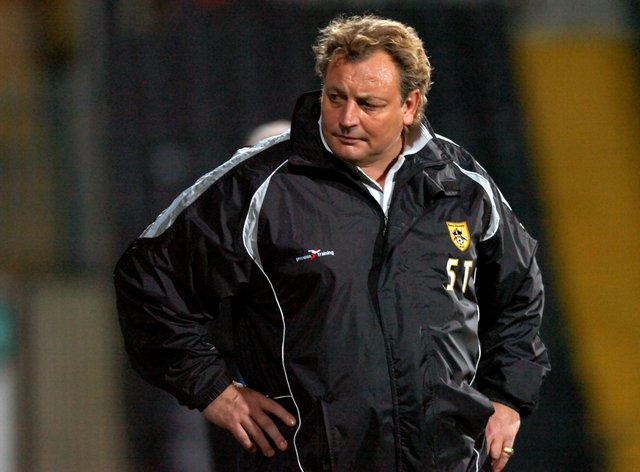<p>Former Notts County boss Thompson was dropped by the BBC earlier this week</p>