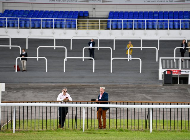 Spectators are allowed back on racecourses from Wednesday, including at Kempton