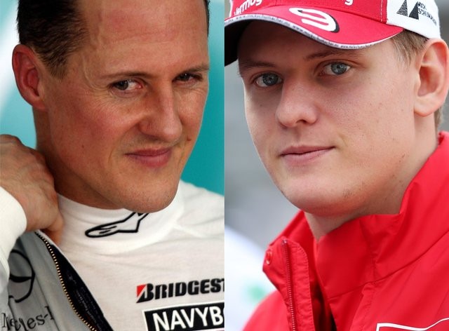 <p>Mick Schumacher is following in dad Michael's footsteps in Formula 1</p>