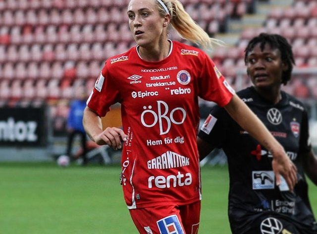 <p>Freja Olofsson will head to the US for the 2021 NWSL season</p>
