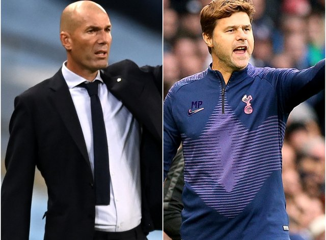 <p>Zidane and Pochettino are among those in the papers this morning</p>