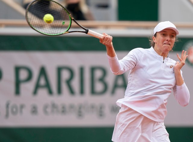 <p>Iga Swiatek has been nominated for the WTA 'Player of the Year' award</p>