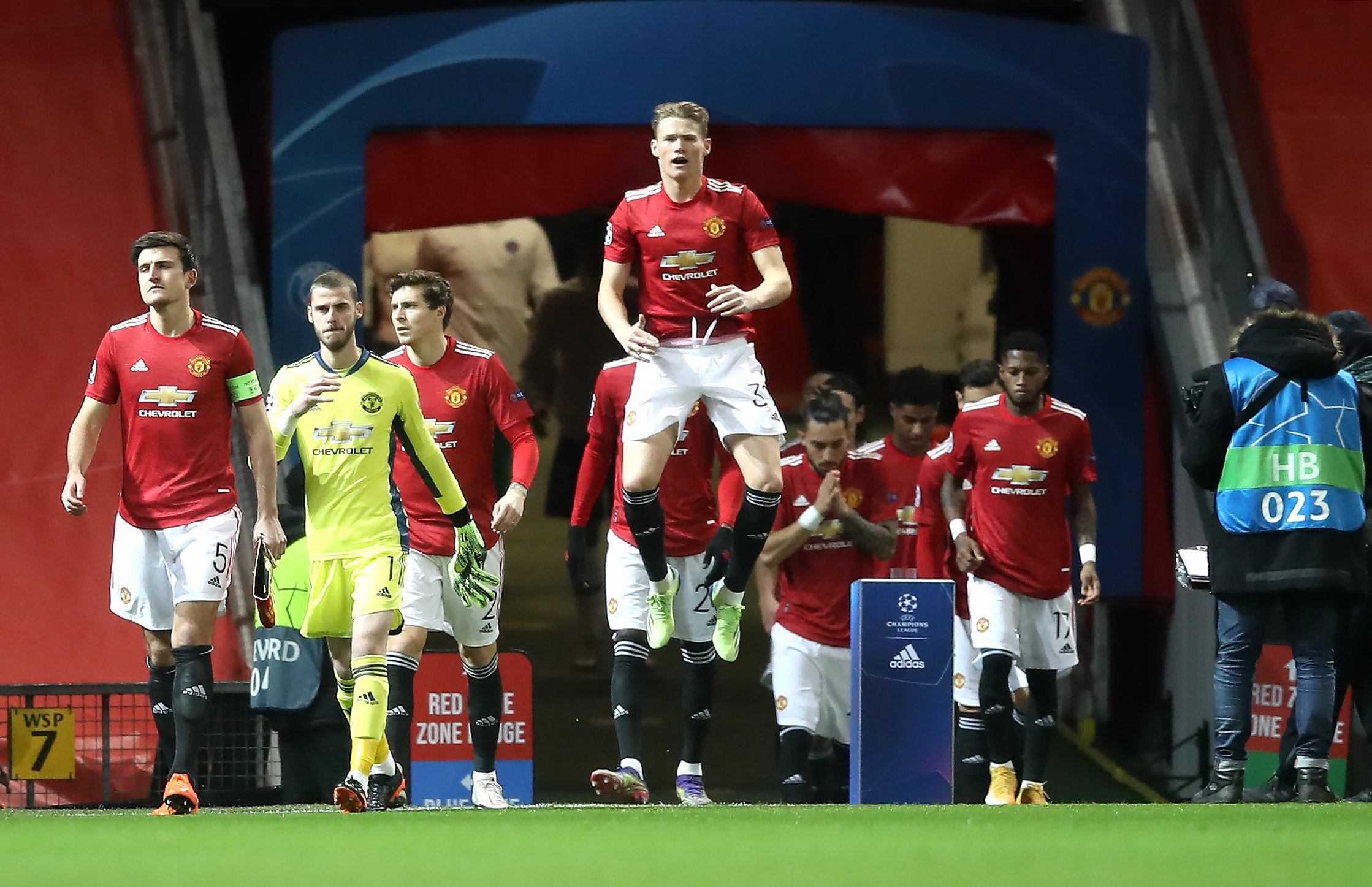 Unhappy Scott McTominay seeks Champions League response from Manchester United