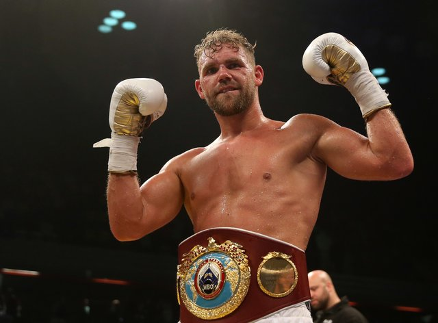 Billy Joe Saunders will make the second defence of his WBO super-middleweight title on Friday (Scott Heavey/PA)