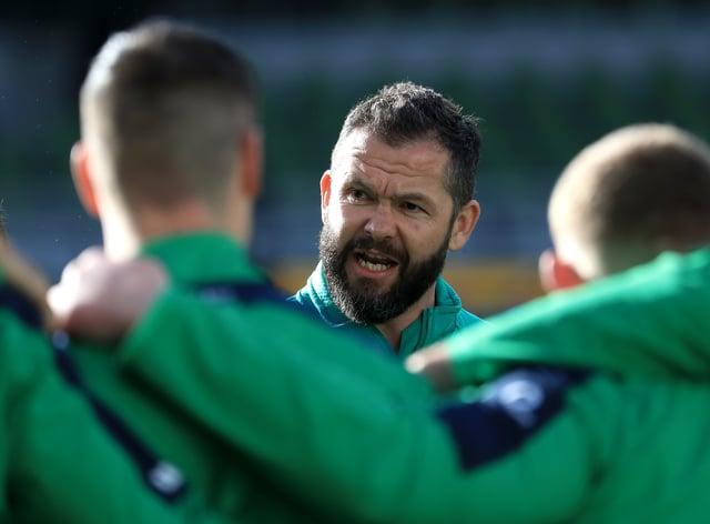Andy Farrell expected a bumpy ride as Ireland head coach