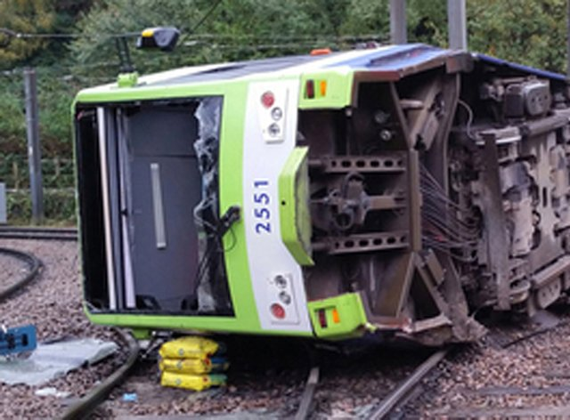 Families of the Croydon tram crash victims are demanding that the inquest into the accident is moved to central London after a fresh delay (RAIB/PA)