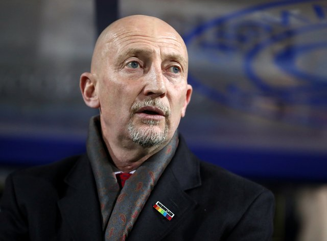 Ian Holloway was far from impressed by his side's defeat at Colchester