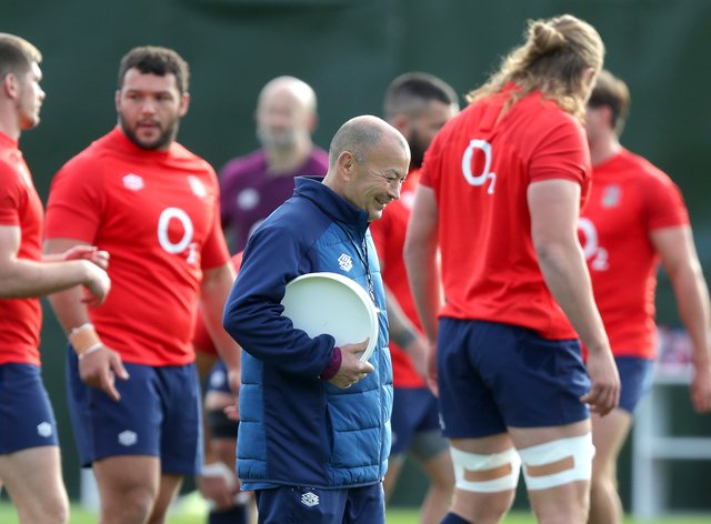 Eddie Jones wants England to supply 20 players to the Lions tour