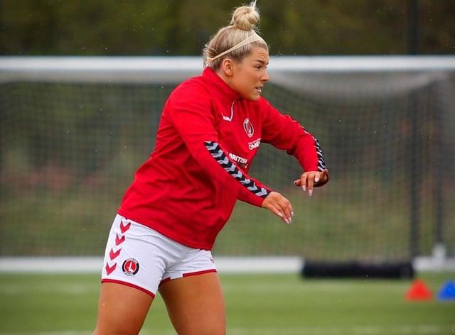 <p>Charlton Athletic have cancelled Madelene Wright's registration</p>