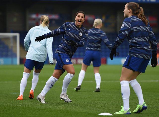 <p>Chelsea are defending their title this week</p>