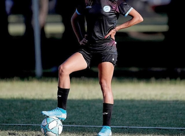 Gomez made her debut on Monday 11 months after signing for the club