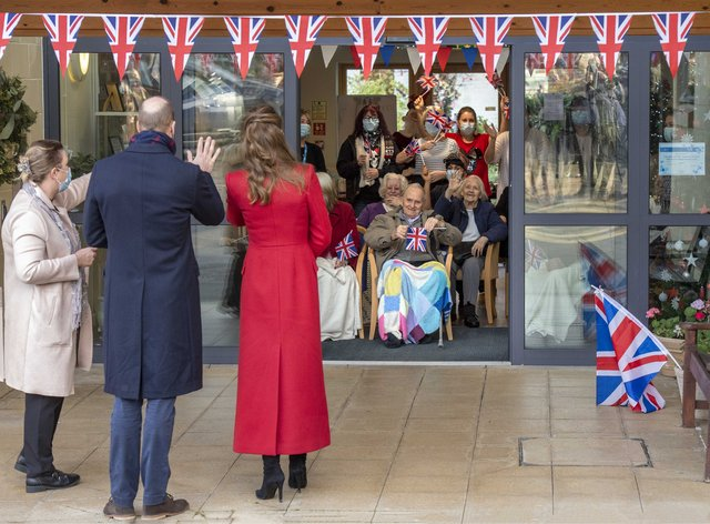 Duke and Duchess of Cambridge's royal train tour