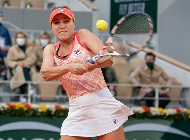 <p>Sofia Kenin &nbsp;has been recognised for her tennis achievements this year</p>