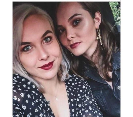 <p>Hamer and Rowles have been together six months</p>