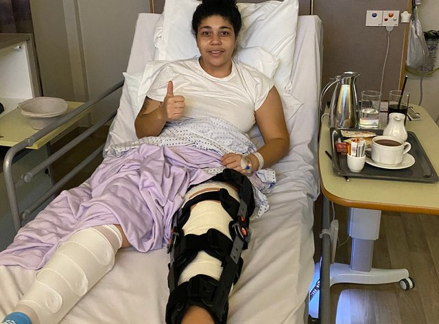 <p>Renee Hector is now out of surgery&nbsp;</p>