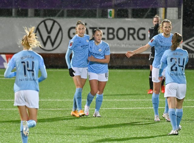 <p>City have picked up two wins in four days against Everton and Goteborg</p>