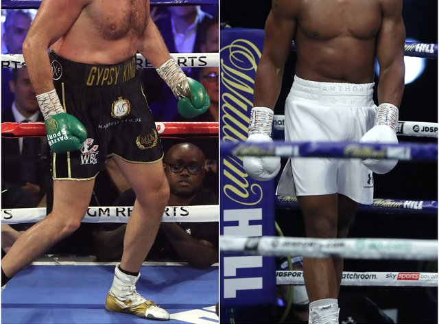 <p>Fury and Joshua on a collision course to meet in an undisputed fight later this year</p>