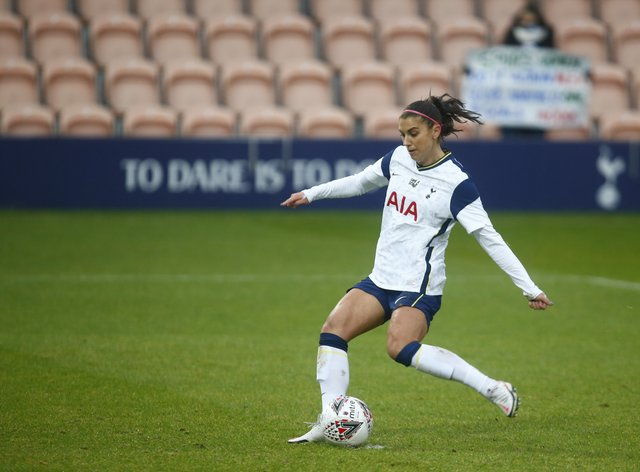 <p>This weekend sees Morgan's last game for Spurs on her current deal</p>