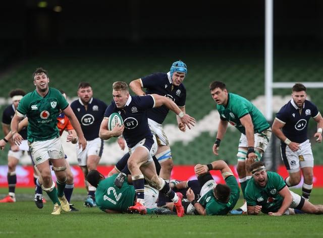 Ireland v Scotland – Autumn Nations Cup – Aviva Stadium
