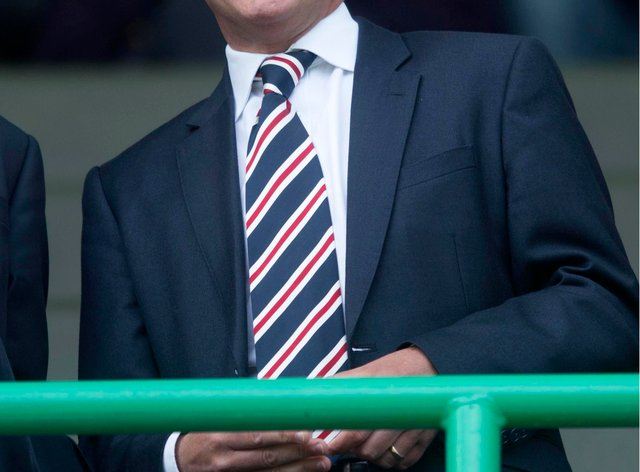 Rangers managing director Stewart Robertson has hit out about the governance of Scottish football during the club's AGM.