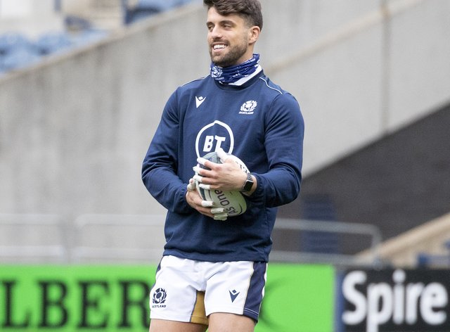 <p>Scotland international Adam Hastings will join Gloucester next season</p>