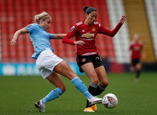 Christen Press signed for Manchester United in September