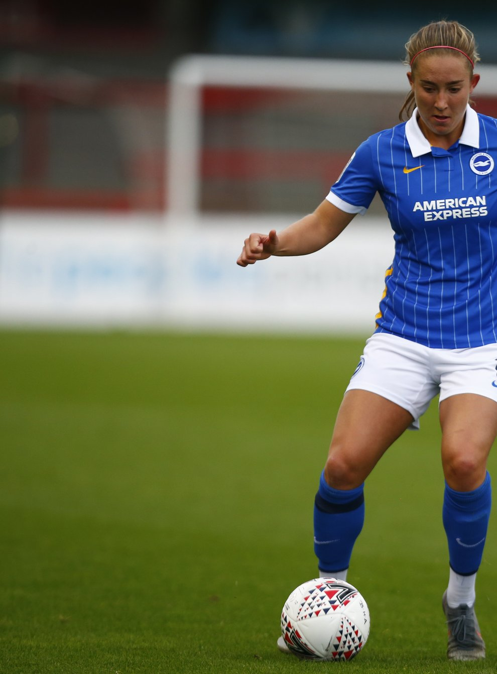 <p>Le Tissier has high expectations for her career</p>