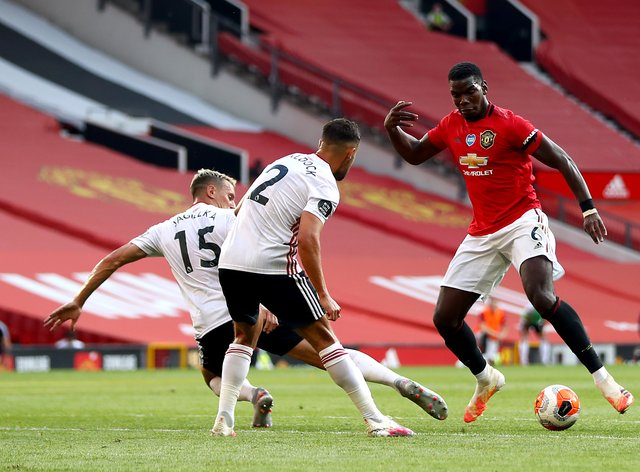 <p>Manchester United will go at least sixth with a win tonight, while Sheffield United will remain bottom even with a victory</p>