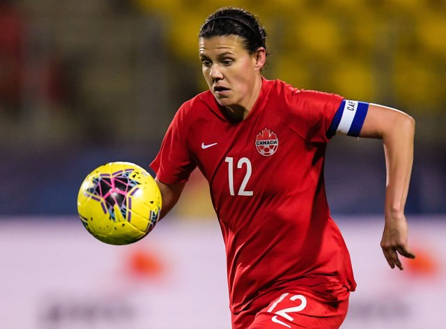 Sinclair has scored 186 goals for Canada