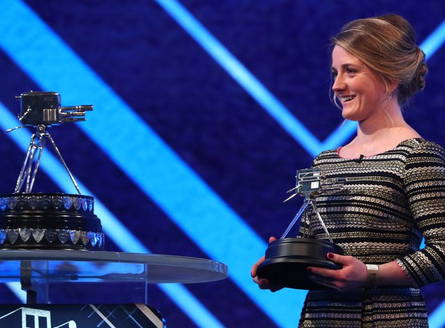 <p>Record-breaking jockey reflects on her 'unbelievable' third place behind Lewis Hamilton</p>