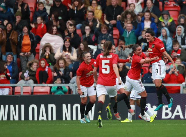 <p>Manchester United are top of the WSL at Christmas for the first time in their history</p>