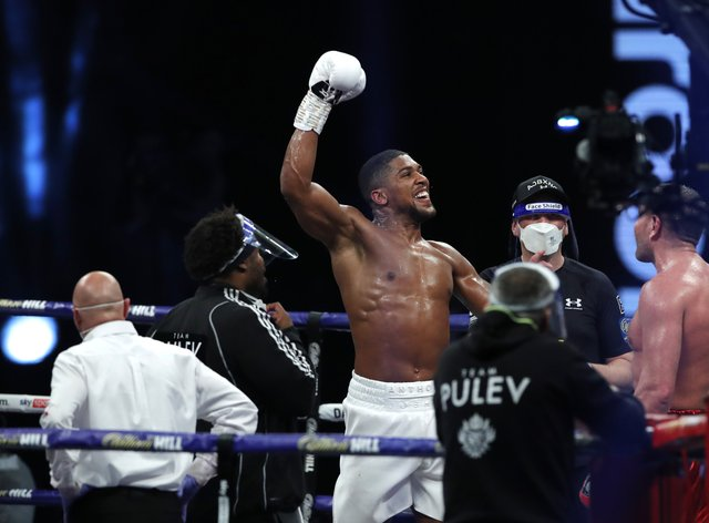 <p>Joshua beat Pulev earlier this month to set up a clash with Fury in 2021</p>