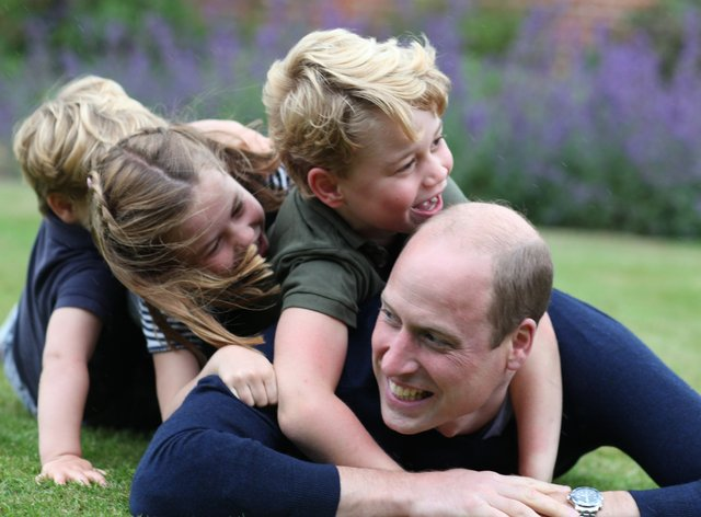The Duke and Duchess of Cambridge have been criticised for breaching the Rule of Six during Sandringham walk. PA Media