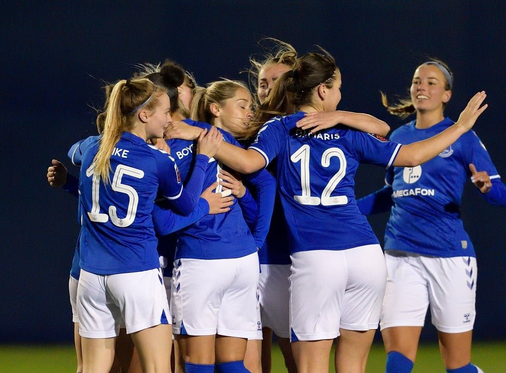 <p>Everton are fifth in the table at the mid season break</p>