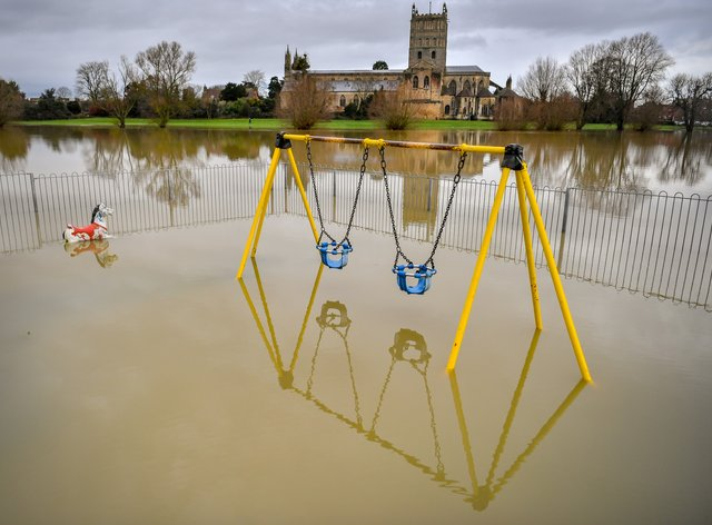 Floods have struck in the UK