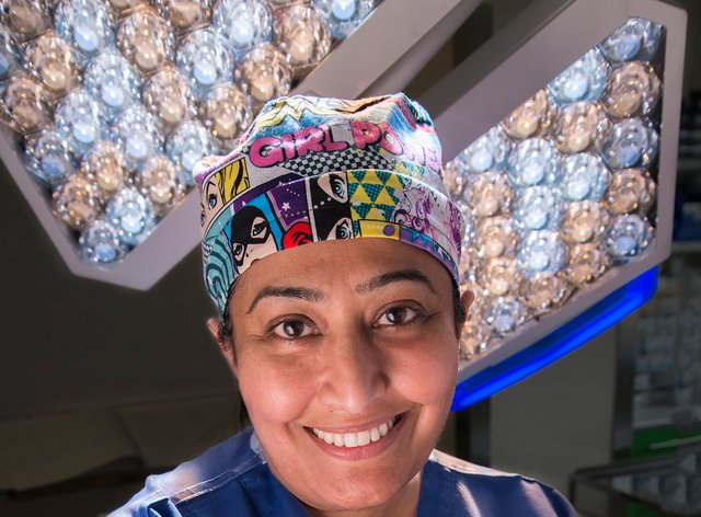 Professor Farah Bhatti (Swansea Bay University Health Board/PA)